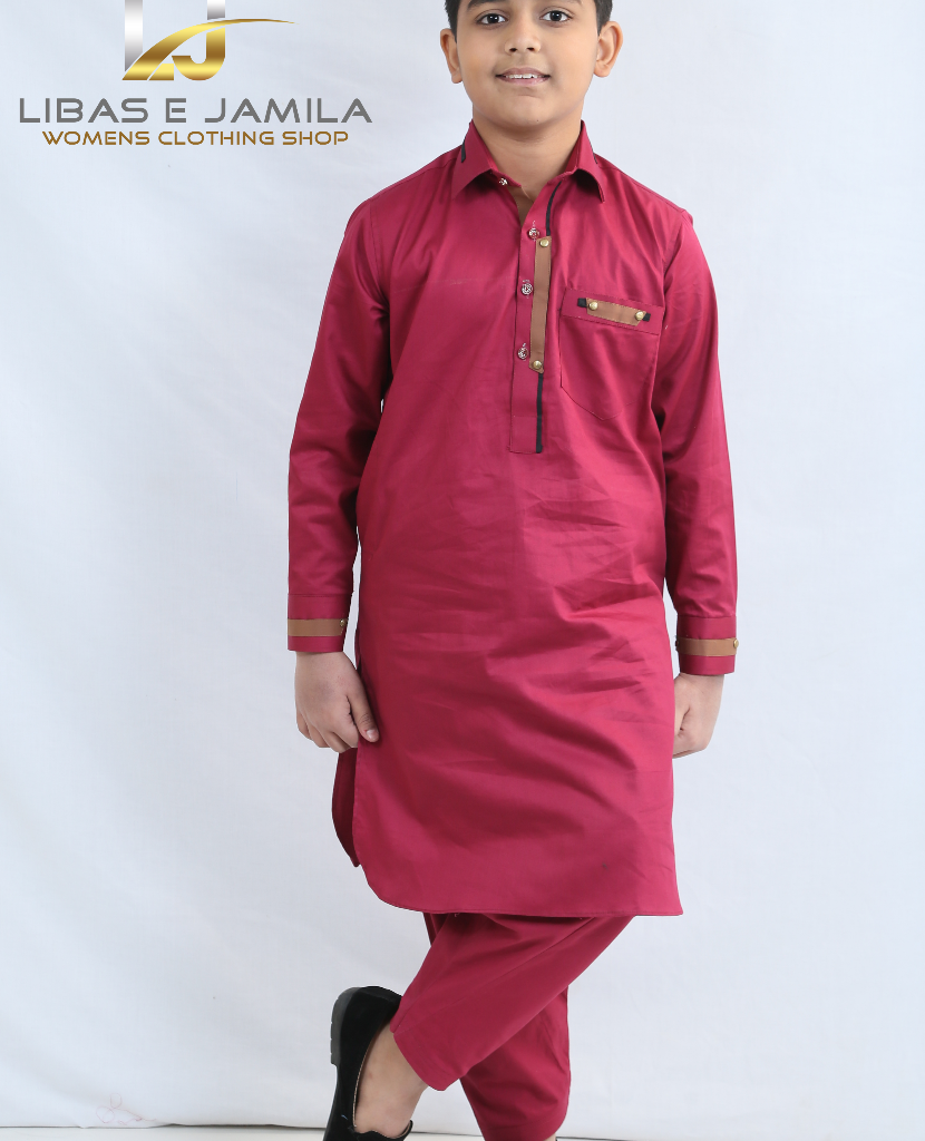 Buy the Most Stylish Boys Kurtas for Your Children