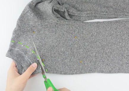 How to Cut Sweatshirts